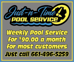 Weekly pool service NOW