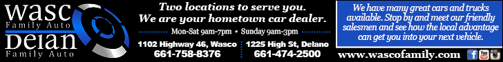 Wasco Family: 2 locations to serve you